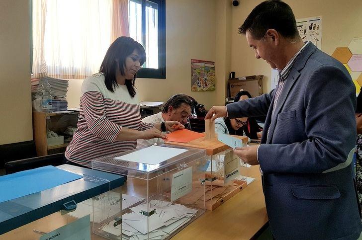 Cabañero (PSOE) confía en un alto nivel de participación del electorado este 26M