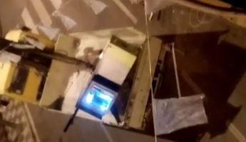 Robaban cajeros automáticos con un camión pluma, en Albacete y otras provincias