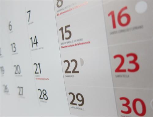 Aprobado el calendario laboral para el 2021 en Castilla-La Mancha, en el que vuelve el Corpus como festivo