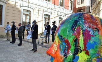 AFANION presentó su nuevo calendario solidario de 2021 en la Diputación de Albacete