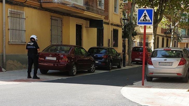 Multas en la calles Blasco Ibáñez, sin señales de prohibición todavía.