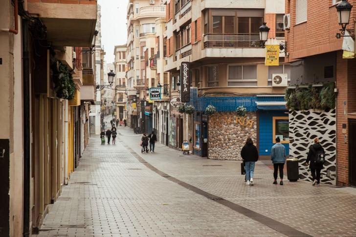 Imagen de archivo de la calle Concepción.