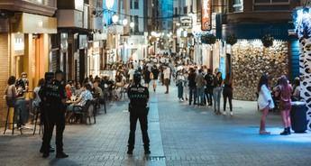 La Policía de Albacete puso en la última semana 81 denuncias, 69 por mascarillas y 10 a establecimientos