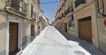 Calle Virgen de las Nieves de Chincilla.