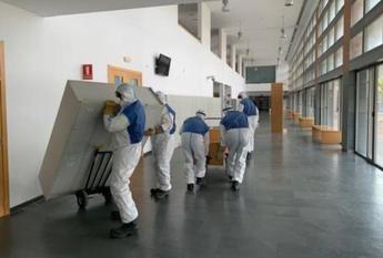 Los hospitales de Castilla-La Mancha tienen instaladas 1.000 camas más y el triple de respiradores que en un mes normal
