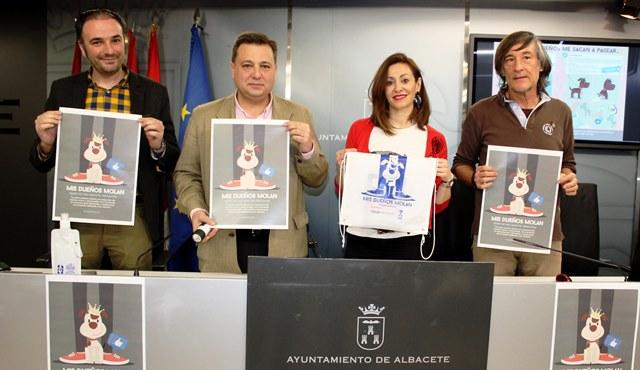 El Ayuntamiento lanza una campaña para concienciar a los dueños de perros y lograr que Albacete sea una ciudad limpia