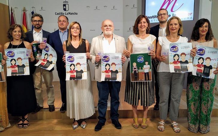 La campaña 'Sin un sí, ¡es no!' contará con la colaboración hostelera en la Feria de Albacete