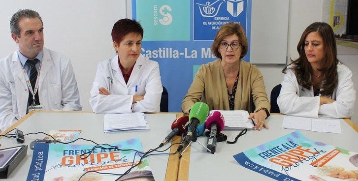 Campaña de vacunación en Albacete con casi 50.000 dosis en la capital, 13.000 en Villarrobledo y Hellín y 7.300 en Almansa