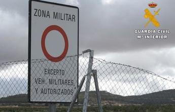 Dos detenidos por la Guardia Civil dentro del campo de maniobras militares de Chinchilla cuando estaban cogiendo setas