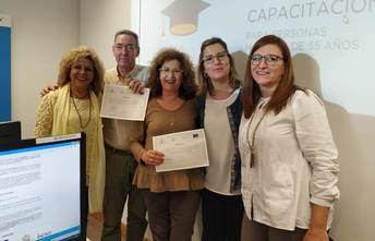 """240 personas se forman en la provincia de Albacete sobre nuevas tecnologías gracias al Programa """"CapacitaTIC+55"""""""