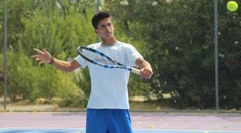 El tenista albaceteño Carlos Sánchez Jover disputará su primer Ciudad de Albacete