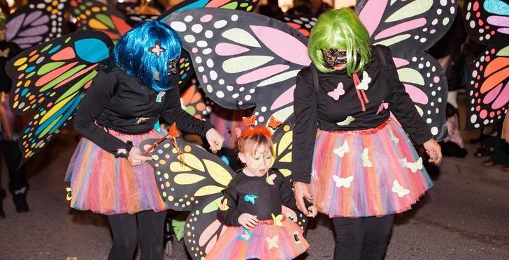 Albacete sale a la calle para participar en el desfile de su Carnaval 2019
