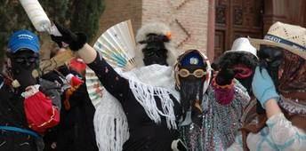 Imagen del Carnaval de Herencia, de luto este año por la muerte del joven Gonzalo.