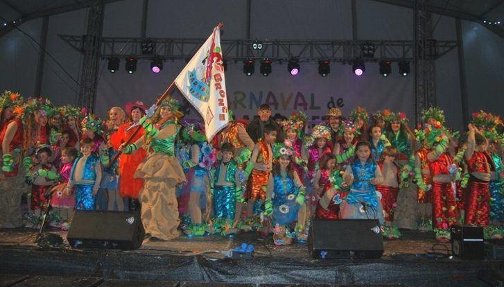 El colegio Giner de los Ríos gana el carnaval infantil 2.019 de Villarrobledo