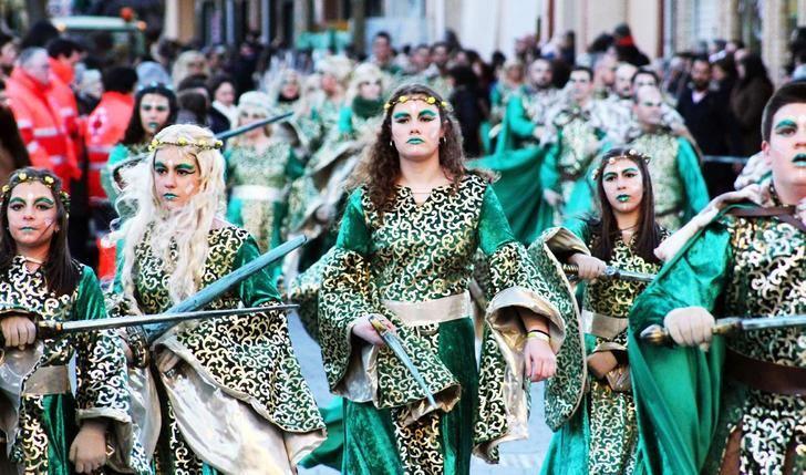 Un millar de rodenses participarán en el desfile inaugural del carnaval 2019 de La Roda