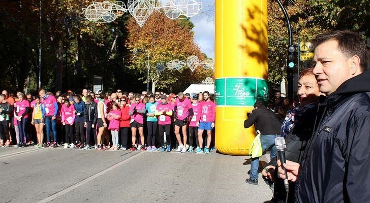 1.500 personas participan en Albacete en la X Carrera por la Salud de la Mujer 'Memorial María José Merlos' de AMAC