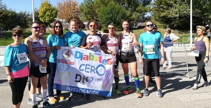 1.500 corredores toman la salida en Albacete en la carrera a favor de la DiabetesCERO