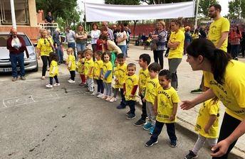 El colegio José Serna de Albacete celebró la quinta edición de su carrera escolar