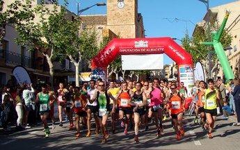 Montealegre del Castillo acoge la carrera semanal del Circuito Provincial de la Diputación de Albacete