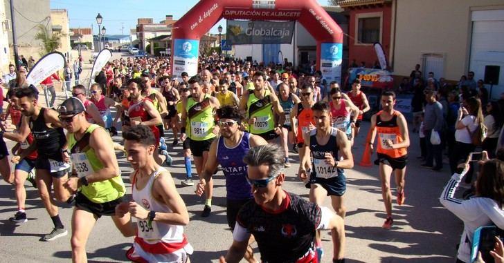 José Ángel Leal y Carmen Risueño ganaron la prueba de Abengibre del Circuito de Carreras Populares de la Diputación de Albacete