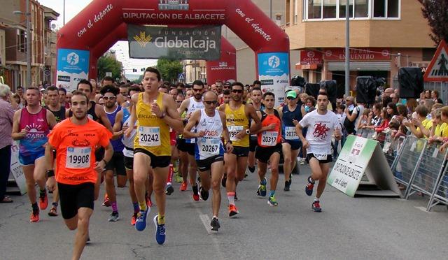 Mariemy Azorín y Rafael López ganaron la Carrera Popular de Pozo Cañada