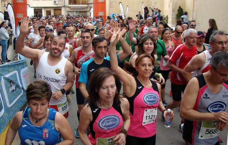700 atletas tomarán tomarán la salida en la Carrera Popular de Valdeganga y otros 300 en el V Trail
