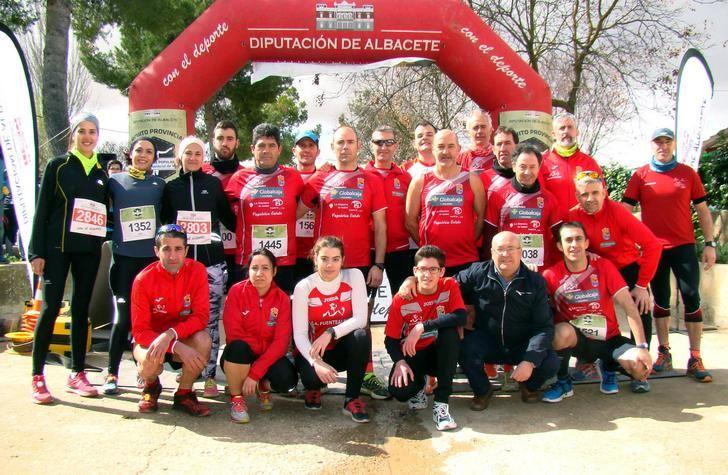 El Circuito Provincial de Carreras Populares llega a Fuentealbilla con 900 corredores
