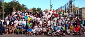 Sara Castillo y Andrés Micó fueron los ganadores de la XXXI Media Maratón de Hellín