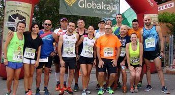 Laura Villar y Miguel Ángel Torrecilla ganaron la carrera de Paterna del Madera