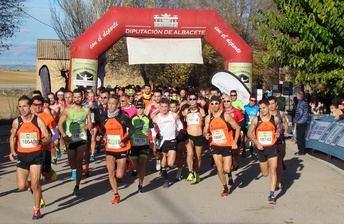 La Carrera Popular de Pétrola inicia la recta final del XIX Circuito Provincial de la Diputación de Albacete