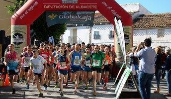 María Ángeles Magán y Domingo Cuevas ganaron en la Carrera Popular de Casas de Lázaro