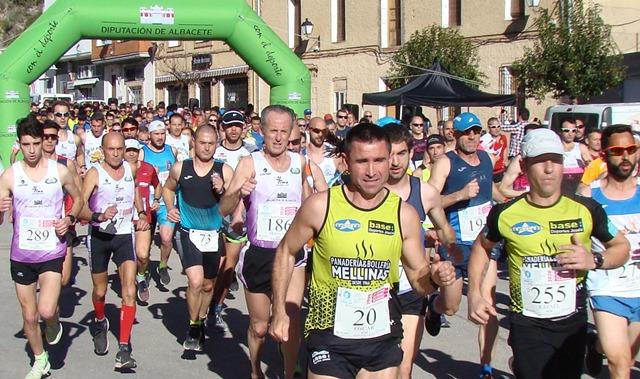 Eva Moreno y Javier Muñoz ganaron la Carrera Popular de Molinicos, del Circuito de la Diputación de Albacete
