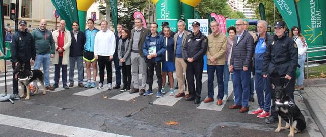 Más de 2.000 corredores en Albacete en la carrera solidaria en beneficio de Cruz Roja y Asprona