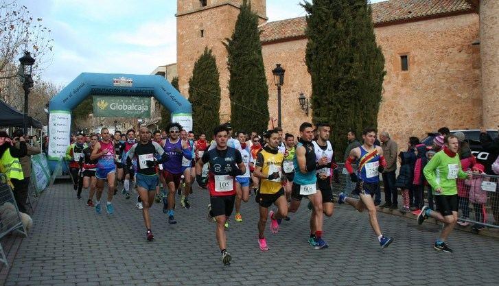Zabid Zehraoui (Madrigueras) y Eva Moreno (Hellín) ganaron la Carrera Popular de Balazote