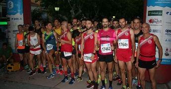 Mari Ángeles Magán y Jesús Muñoz ganaron la carrera nocturna de Mahora
