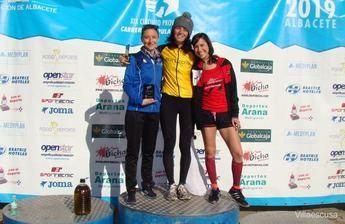 María Ángeles Magán y Jesús Muñoz, ganadores de la IX Carrera Popular de Socovos