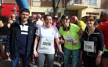 Albacete acogió la tercera edición de la Carrera Popular a beneficio del Teléfono de la Esperanza