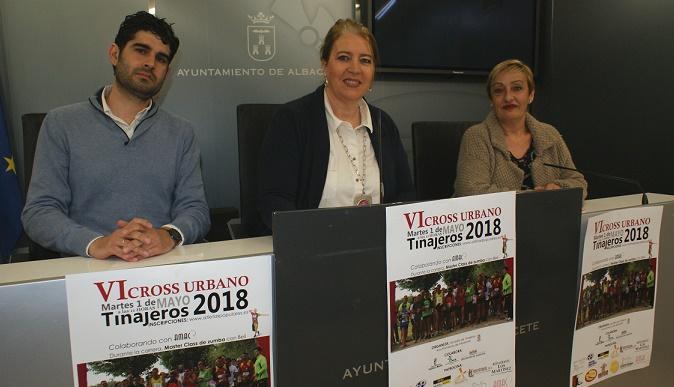 Todo preparado para el VI Cross Urbano Tinajeros 2018, a beneficio de AMAC
