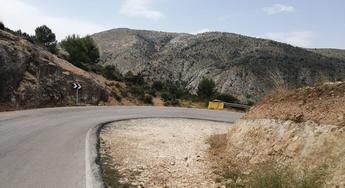 Los vecinos de Nerpio tendrán una 'salida' a la región de Murcia a través de la AB-507