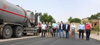La Junta inicia las obras de remodelación de la carretera CM-412, en Riópar (Albacete)