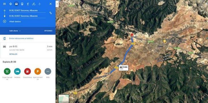 El alcalde de Socovos responde al consejero murciano que pidió que arregle la carretera a Benizar