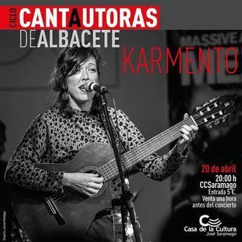 La casa de la cultura 'José Saramago' acoge mañana el concierto de Karmento