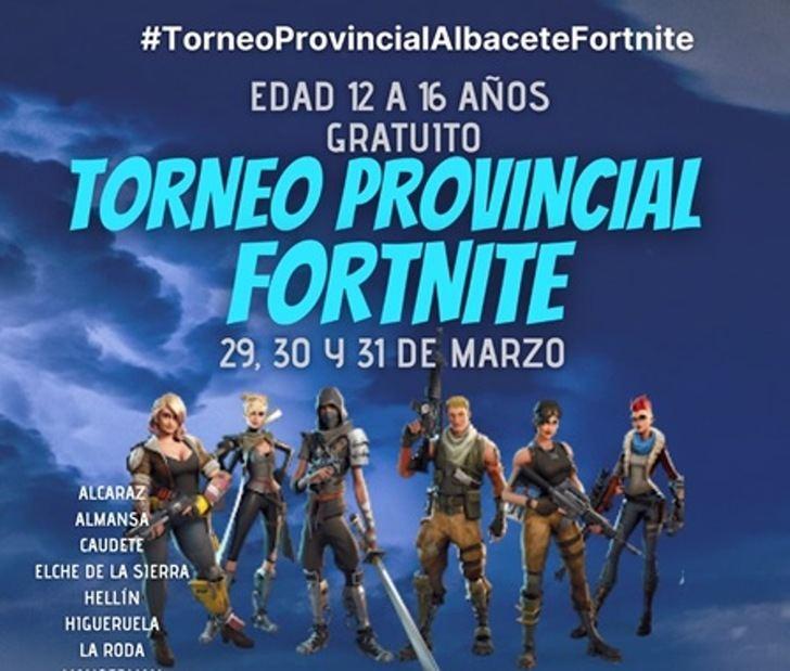 Hellín será uno de los organizadores del Torneo Provincial Fortnite que se celebrará a finales de mes