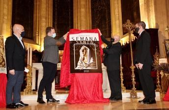 'Dolorosa de San Juan', de Jesús Espadas Navarro, cartel anunciador de la Semana Santa 2021 de Albacete