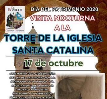 El Bonillo organiza una visita nocturna a la torre de la Iglesia de Santa Catalina, a 60 metros de altura