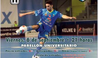 El día 6 se celebra el II Torneo de Feria del UDAF, que se medirá al Peñíscola FS