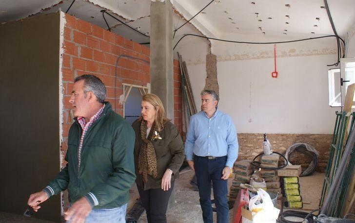 El Ayuntamiento de Albacete inicia los trabajos de mejora y ampliación en el centro social de Casa de Las Monjas