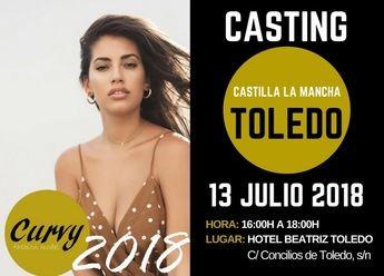 Casting para modelo profesional de Curvy Fahsion, este viernes en Toledo