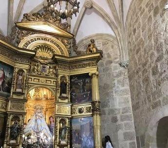 El pintor Roberto Fernández donará su última obra al futuro Museo de la Virgen de los Llanos de Albacete