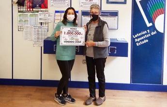 Un millón de euros para un acertante del Joker de la Primitiva en Caudete (Albacete)